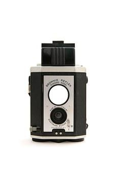 Kodak, Camera, Film, Brownie Reflex, Picture, Black