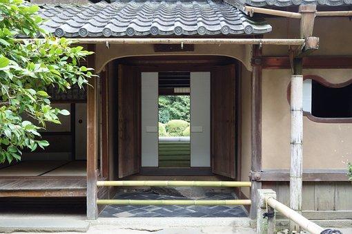 Scale Hall, Front Door, Kyoto, Japan Garden, Outlook