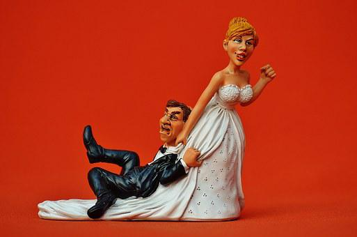 Grind Down The Aisle, Bride, Groom, To Force, Panic