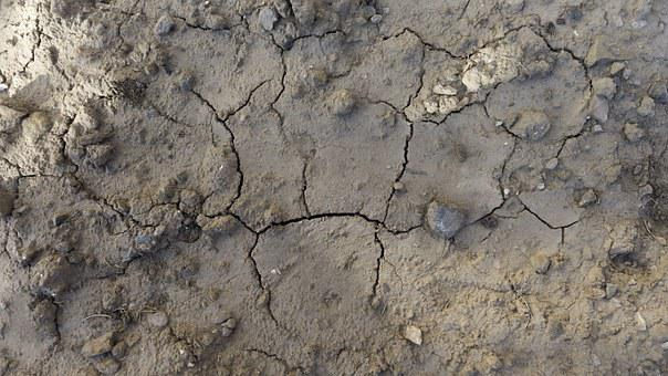Texture, Background, Soil, Ground, Parched, Cracks