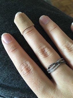 Hand, Fingers, Wound, Slice, Heal
