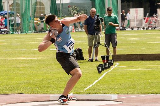 Athletics, Ball Butt, Sport, Junior Gala Mannheim
