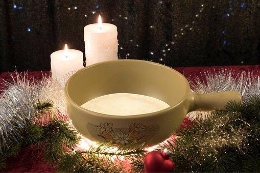 Christmas, Eat, Fondue, Cheese Fondue, Cheese, Kitchen