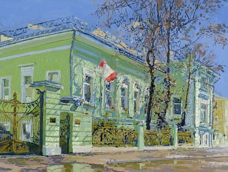 Simon Begichev, Moscow, Russia, House, Home, Mansion
