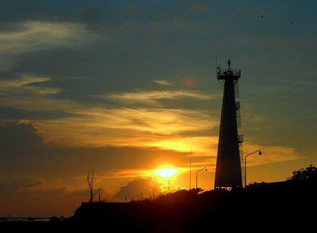 Mercusuar, Pantai Camplong, Sampang, Madura, Jawa Timur