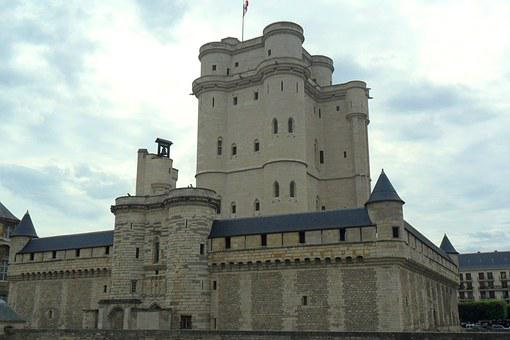 Vincennes, Castle, Paris, France, Monument, Kings