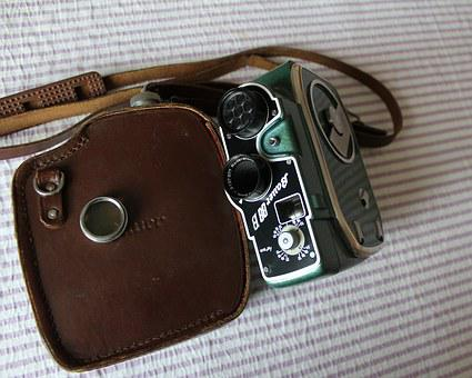 Film Camera, Old Camera, Narrow, Film, Lens, Rodenstock