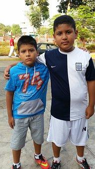 Nieto, Friend, Neighbor, Children, Brothers, Together