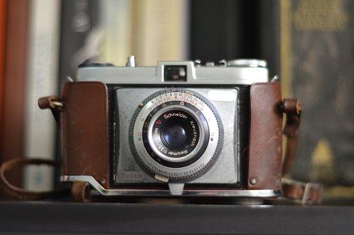Photo, Old Camera, Analog, Technical Photos, Lens