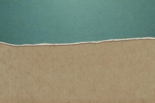Paper, Art, End, Texture, Background, Line, Tear