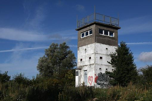 Watchtower, Relic, Iron Curtain, Border, History