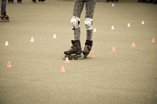 Inline, Skating, Rollerblades, Rollerblading, Sport