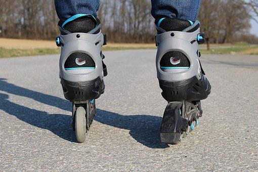 Inline Skates, Rollerskates, Recreational Sports, Sport