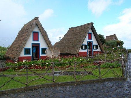 Madeira, Santana, Depth, Landmark, Places Of Interest