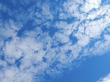 Cloud, Sky, Blue, Sky Clouds, Blue Sky Clouds, Nature