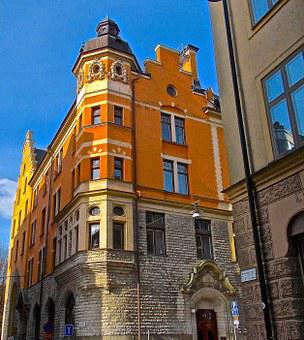Facade, Structure, St Paul Street, Södermalm, Stockholm