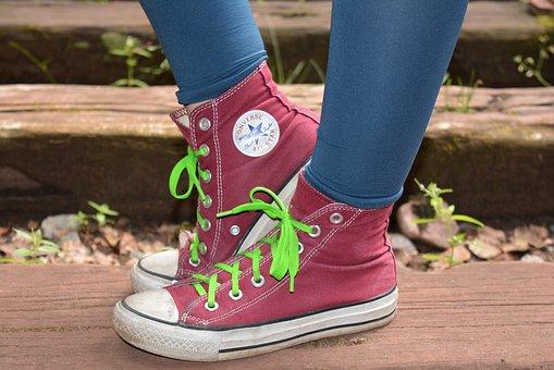 Converse, Chuck's, Teenager, Leisure, Sneaker, Summer