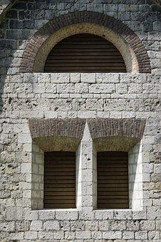 Fortress, Window, Closed, Wilhelmsburg, Ulm, Castle
