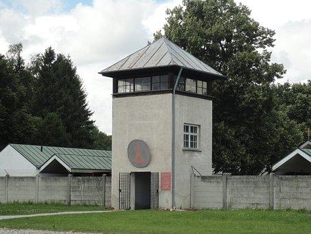 Watchtower, Dachau, Konzentrationslager, Crime