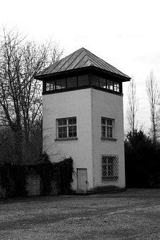 Konzentrationslager, Dachau, Watchtower, Hitler Era