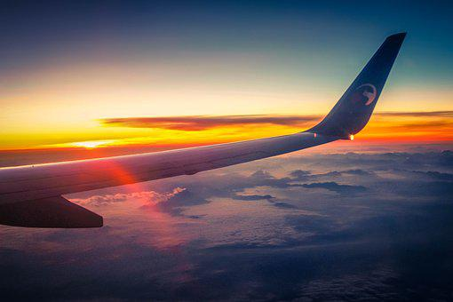 Wing, Aircraft, Travel, Sky, Heaven, View From Airplane