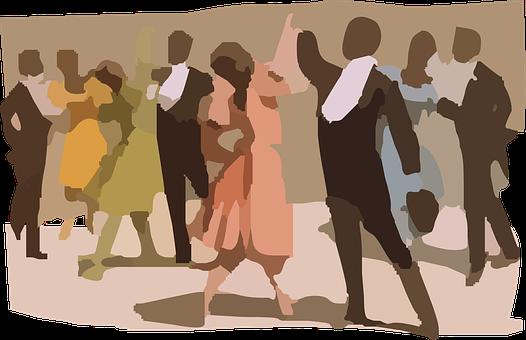 Men, Women, Party, Music, Dancing, Graduation