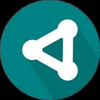 Share, Icon, Collaboration, Flat, Web, Social