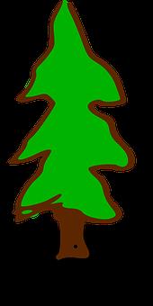 Fantasy, Pine, Tree, Needles, Conifer, Needle Beam