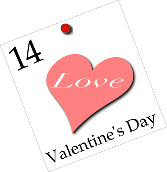 Valentines, Calendar, February, Holiday, Love, Heart