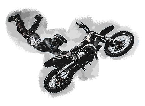 Extreme Sports, Motocross, Motorcycle, Motorbike