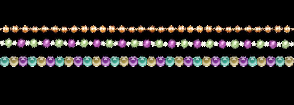 Pearl Border, Border, Frame, Pearls, Gemstones, Pearl