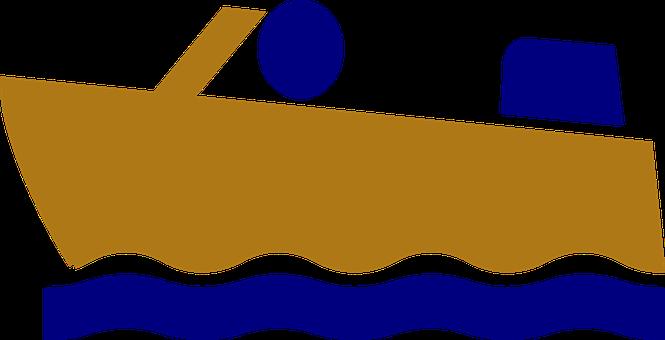 Boating, Sign, Symbol, Icon, Design, Motor Boat, Ship