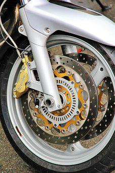 Brake, Disc Brake, Brake Disc, Field, Wheel, Motorcycle