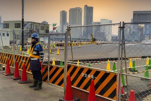 Worker, Construction Site, Caretaker, Industrial Zone
