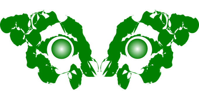 Demon, Eyes, Devil, Green