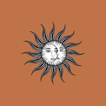 Design, Graphic, Graphic Design, Sun, Painting