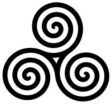 Celtic, Tribal, Knot, Spiral, Ornament, Viking