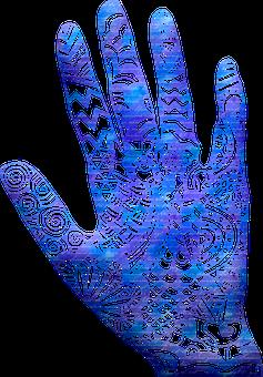 Watercolor, Hamsa, Hand Of Fatima