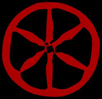 Cart Wheel, Carriage, Wooden, Round, Wheel, Wood