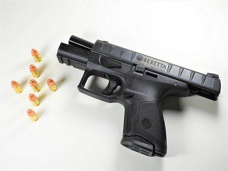 Handgun, Ammo, Beretta, Apx, Compact, Gun, Shooting
