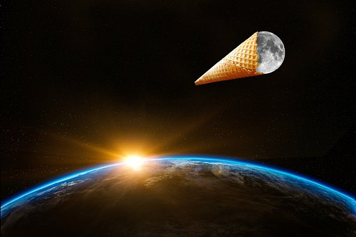 Earth, Sky, Space, Moon, Galaxy, Cosmos, Planet, Cornet