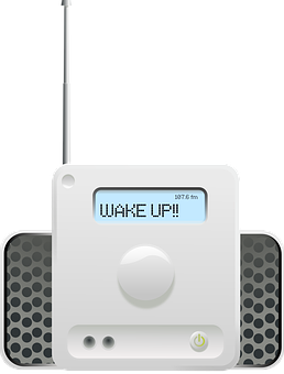 Radio, Clock, Speakers, Wake, Alarm, Screen