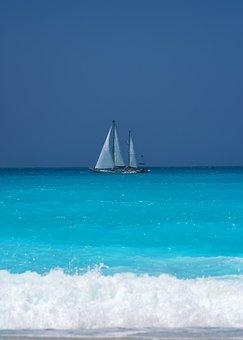 Sea, Blue, Water, Beach, Sky, Summer, Travel, Nature
