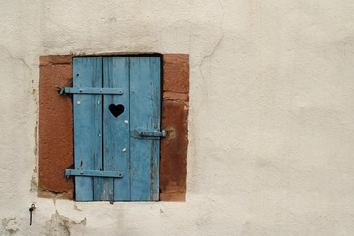 Window, Wall, Old, Facade, Frame, Wood, Vintage