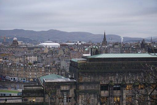 Edinburgh, City, Gothic, Scotland, Architecture