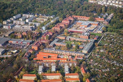 Luftbildaufnahme, Bird's Eye View, Aerial View