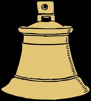 Bell, Ring, Ding, Dong, Metal, Gold, School, Church