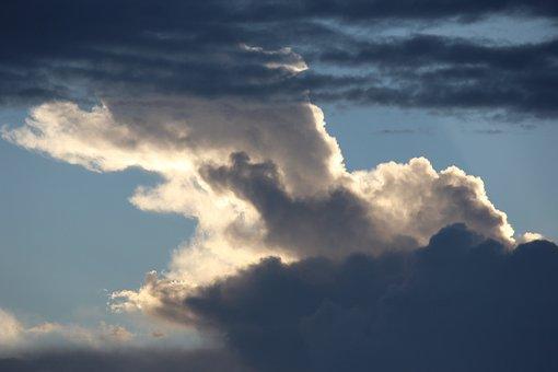Cloud, Sky, Heaven, Sunshine, Cumulus, Weather