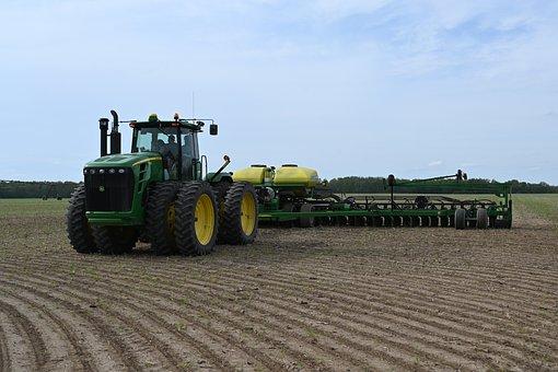 Farm, Farming, Agriculture, John Deere, Planter