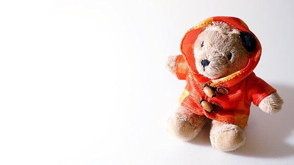 Toys, Fluff, The Bear, Doll, Teddy Bear, Background